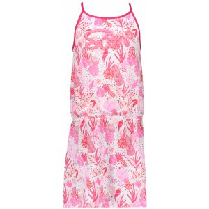 Dívčí šaty SAM 73 KSKR079 TMAVĚ RŮŽOVÁ