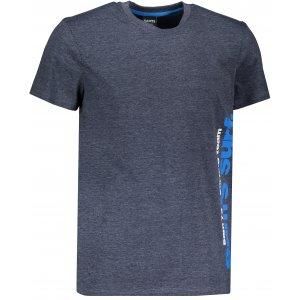 Pánské triko s krátkým rukávem SAM 73 MT 766 TMAVĚ MODRÁ