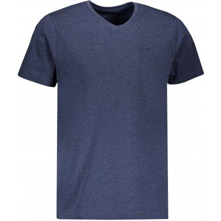 Pánské triko s krátkým rukávem SAM 73 LADIUS MTSR524 TMAVĚ MODRÁ