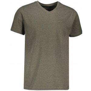 Pánské triko s krátkým rukávem SAM 73 LADIUS MTSR524 KHAKI