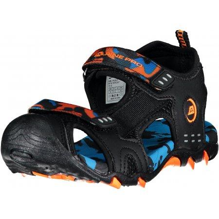 Dětské sandále ALPINE PRO DRUSSILO KBTR222 MODRÁ