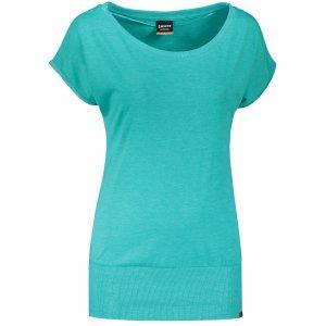 Dámské triko s krátkým rukávem SAM 73 WT 796 ZELENÁ NEON