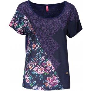 Dámské triko s krátkým rukávem KIXMI JESSIA TMAVĚ MODRÁ