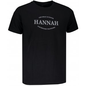 Pánské triko HANNAH WALDORF ANTHRACITE