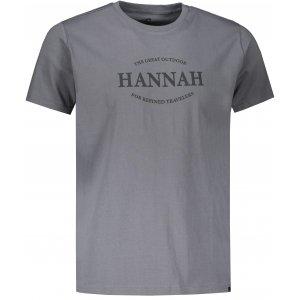 Pánské triko HANNAH WALDORF STEEL GRAY