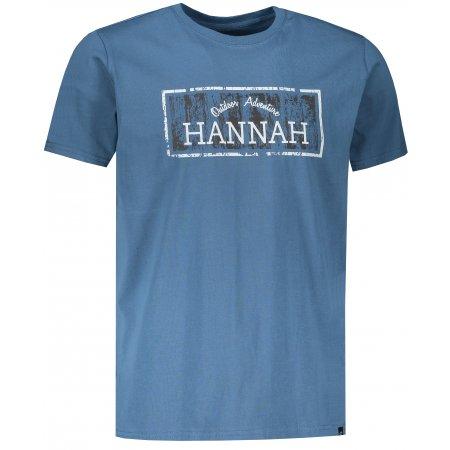 Pánské triko HANNAH WALDORF REAL TEAL
