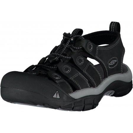 Pánské sandále KEEN NEWPORT M BLACK/STEEL GREY