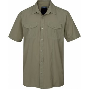 Pánská košile HUSKY GOMY M SVĚTLE OLIVOVÁ