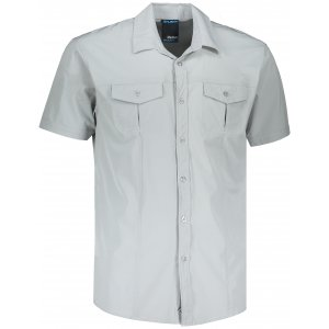 Pánská košile HUSKY GOMY M SVĚTLE ŠEDÁ