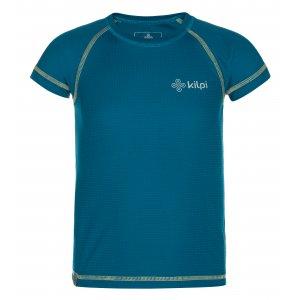 Chlapecké funkční triko KILPI TECNI-JB MJ0011KI TMAVĚ MODRÁ