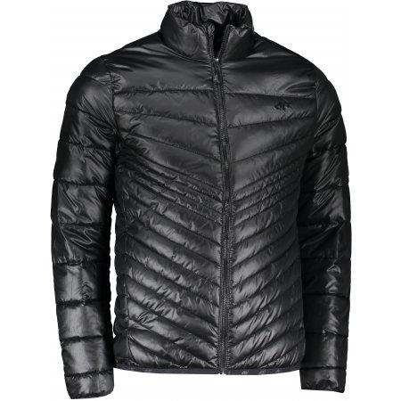 Pánská bunda 4F NOSD4-KUMP202 DEEP BLACK