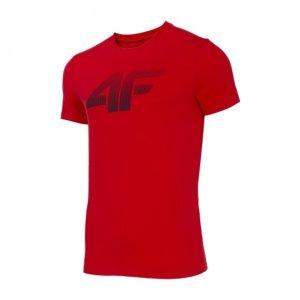 Pánské triko 4F NOSD4-TSM302 RED