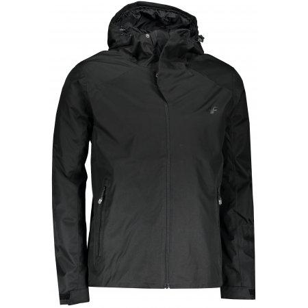 Pánská bunda 4F NOSD4-KUM300 DEEP BLACK