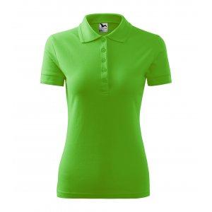 Dámské triko s límečkem MALFINI PIQUE POLO 210 APPLE GREEN