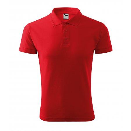Pánské triko s límečkem MALFINI PIQUE POLO 203 ČERVENÁ
