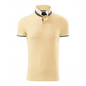 Pánské triko s límečkem MALFINI PREMIUM COLLAR UP 256 BOURBON VANILLA