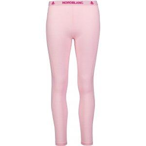 Dámské termo kalhoty MERINO NORDBLANC NBWFL6874 KRÉMOVĚ RŮŽOVÁ