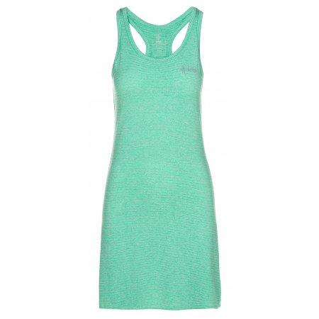 Dámské šaty KILPI SONORA-W ML0020KI TYRKYSOVÁ