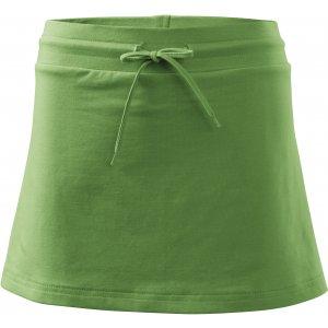 Dámská sukně s kraťasy MALFINI TWO IN ONE 604 TRÁVOVĚ ZELENÁ