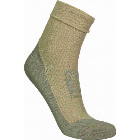 Kompresní ponožky NORDBLANC NBSX16371 ZLATÁ BÉŽOVÁ