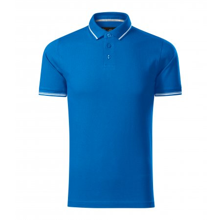 Pánské triko s límečkem MALFINI PREMIUM PERFECTION PLAIN 251 SNORKEL BLUE