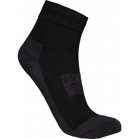 Ponožky NORDBLANC NBSX16381 CRYSTAL ČERNÁ