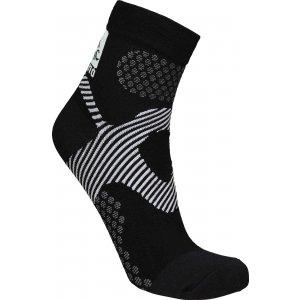 Sportovní kompresní ponožky NORDBLANC NBSX16377 CRYSTAL ČERNÁ