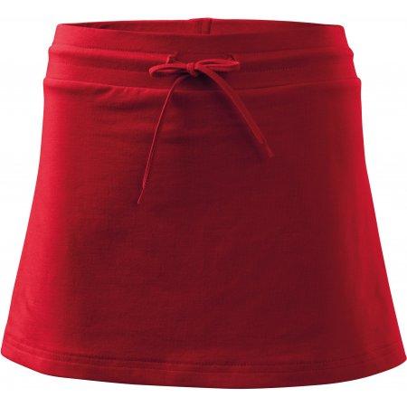 Dámská sukně s kraťasy MALFINI TWO IN ONE 604 ČERVENÁ