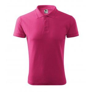 Pánské triko s límečkem MALFINI PIQUE POLO 203 PURPUROVÁ