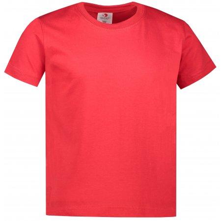 Dětské triko STEDMAN CLASSIC-T SCARLET RED