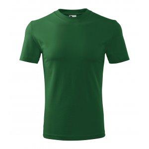 Pánské triko MALFINI CLASSIC 101 LAHVOVĚ ZELENÁ