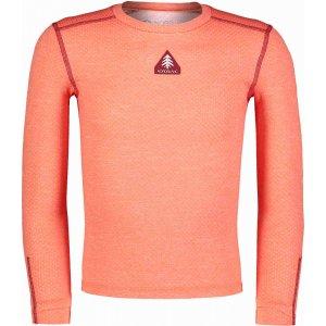 Dětské termo tričko NORDBLANC TWITCH NBBKM7106S ČERVENÝ KORÁL