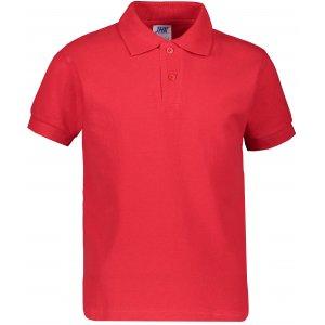 Dětské triko s límečkem JHK KID POLO RED