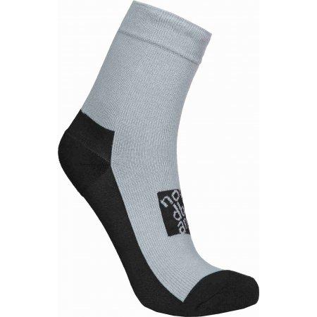 Ponožky NORDBLANC NBSX16382 SVĚTLE ŠEDÝ MELÍR