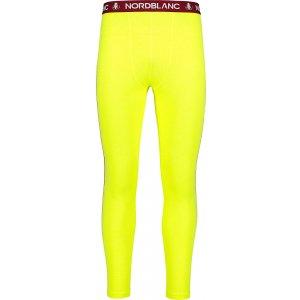 Pánské termo kalhoty NORDBLANC TORRID NBBMM7084 BEZPEČNÁ ŽLUTÁ