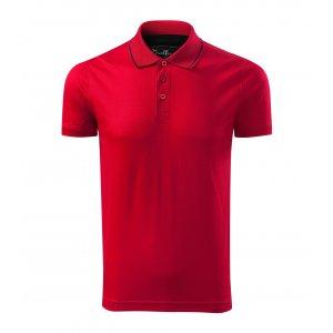 Pánské triko s límečkem MALFINI PREMIUM GRAND 259 FORMULA RED