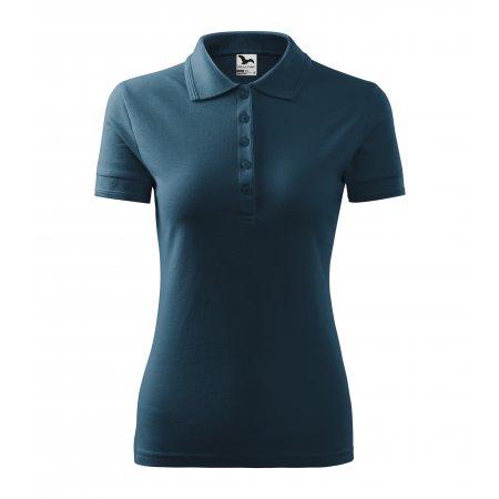 Dámské triko s límečkem MALFINI PIQUE POLO 210 NÁMOŘNÍ MODRÁ