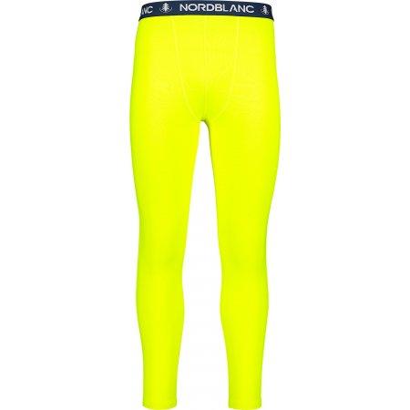 Pánské termo kalhoty NORDBLANC STARTLE NBBMD7088 BEZPEČNÁ ŽLUTÁ