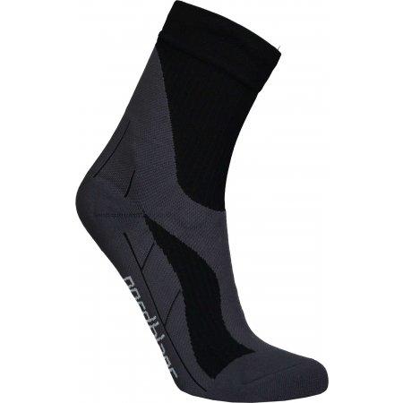 Sportovní kompresní ponožky NORDBLANC NBSX16374 CRYSTAL ČERNÁ