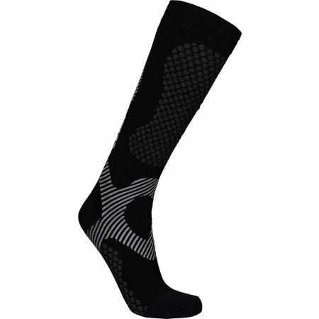 Ponožky NORDBLANC NBSX16375 CRYSTAL ČERNÁ