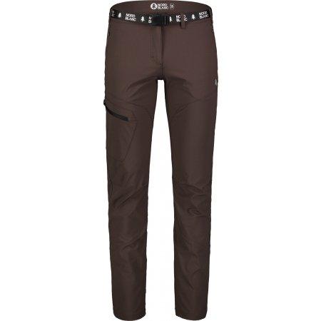 Dámské kalhoty NORDBLANC TRAIT NBSPL7132 TEMNĚ HNĚDÁ