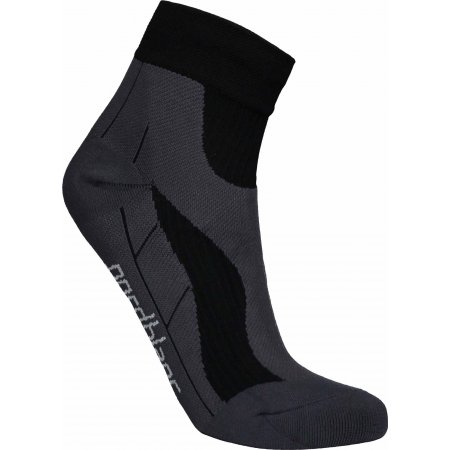 Sportovní kompresní ponožky NORDBLANC NBSX16373 CRYSTAL ČERNÁ