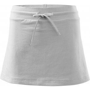 Dámská sukně s kraťasy MALFINI TWO IN ONE 604 BÍLÁ