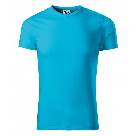 Pánské funkční triko MALFINI STAR 165 TYRKYSOVÁ
