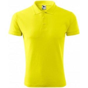 Pánské triko s límečkem MALFINI PIQUE POLO 203 CITRONOVÁ