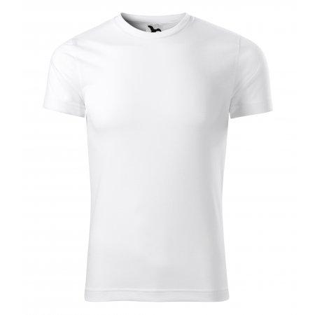 Pánské funkční triko MALFINI STAR 165 BÍLÁ