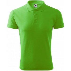 Pánské triko s límečkem MALFINI PIQUE POLO 203 APPLE GREEN