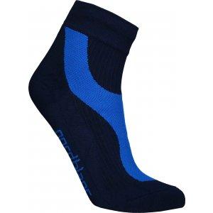 Sportovní kompresní ponožky NORDBLANC NBSX16373 NÁMOŘNICKÁ MODRÁ