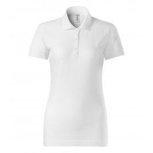 Dámské triko s límečkem PICCOLIO JOY P22 BÍLÁ