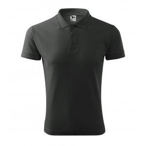 Pánské triko s límečkem MALFINI PIQUE POLO 203 TMAVÁ BŘIDLICE